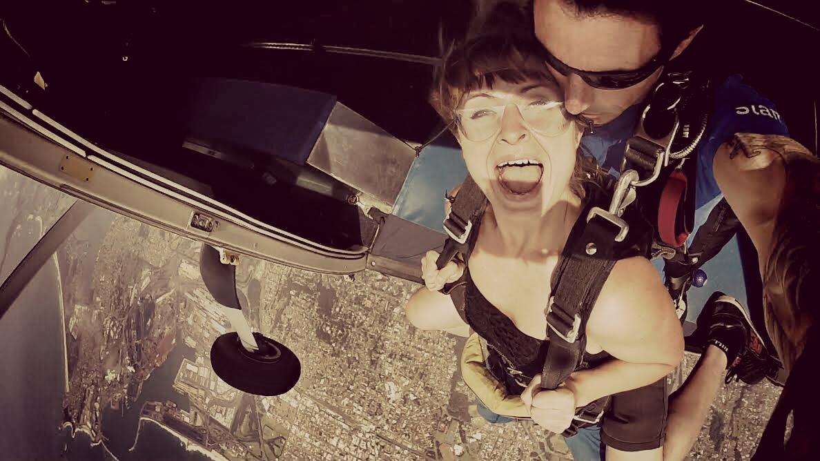 Skydive the beach Sydney!