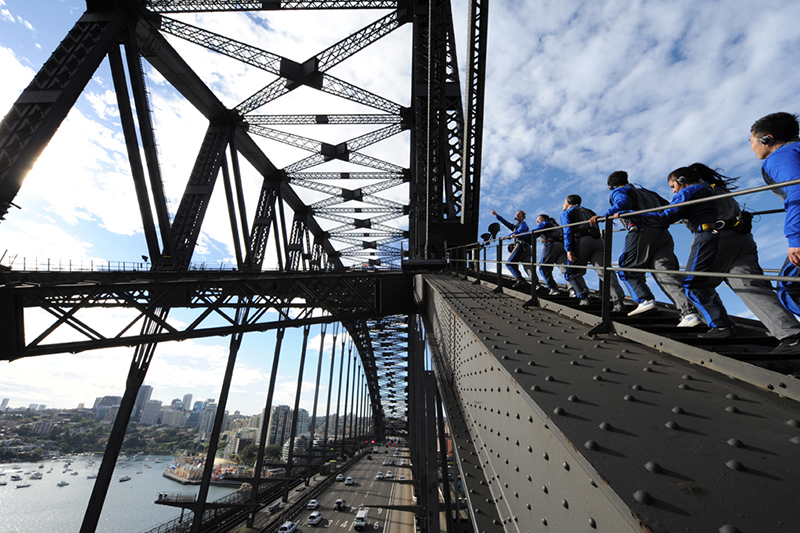 Read here about Bridge Climb Sydney