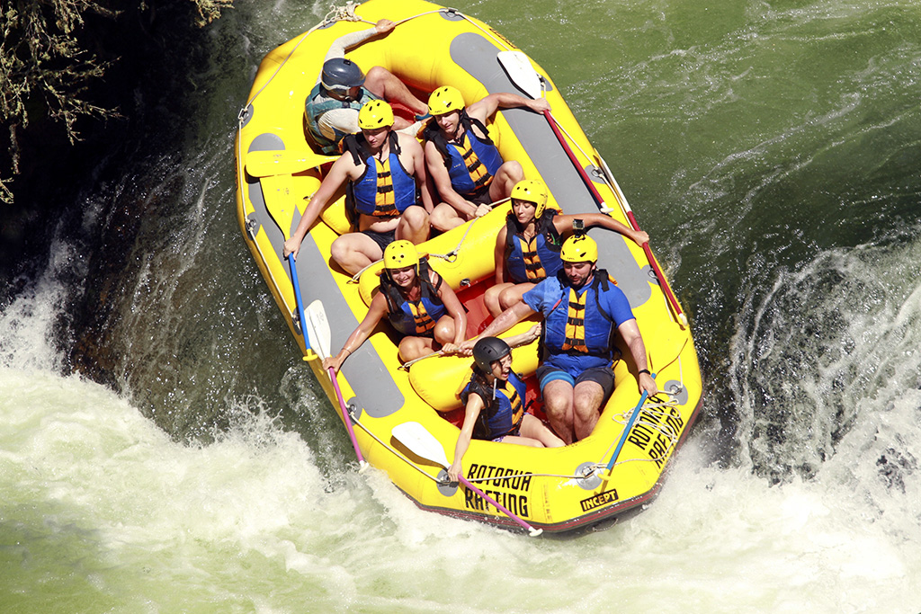 River rafting New Zealand